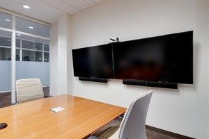 Dual Monitor Conference Room