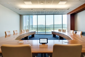 Dual Projector Conference Room