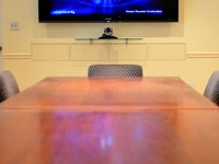 Large TV Boardroom